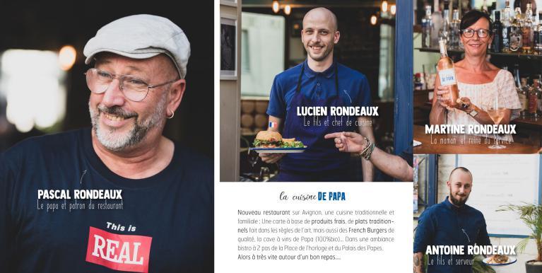 La Cuisine De Papa Restaurant Traditionnel Et Burgers Avignon 84